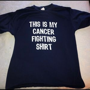 Other - Men's XL navy Cancer Fighting Shirt